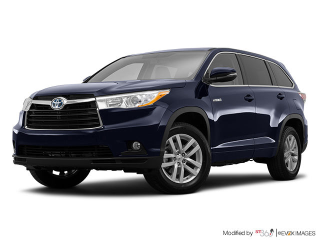 new 2016 toyota highlander hybrid le for sale in pincourt. Black Bedroom Furniture Sets. Home Design Ideas