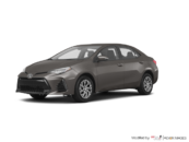 2017 Toyota Corolla 4-door Sedan LE CVTi-S