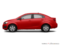 2016 Chevrolet Sonic LS | Photo 1 | Red Hot