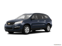2016 Chevrolet Traverse LS | Photo 3 | Blue Velvet Metallic