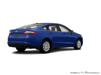 2016 Ford Fusion S | Photo 2 | Deep Impact Blue