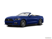 2016 Ford Mustang Convertible EcoBoost Premium | Photo 3 | Deep Impact Blue
