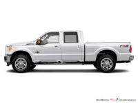2016 Ford Super Duty F-250 KING RANCH | Photo 1 | White Platinum