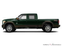 2016 Ford Super Duty F-250 KING RANCH | Photo 1 | Green Gem / Caribou