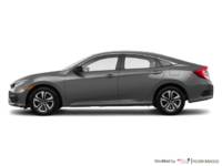2016 Honda Civic Sedan DX | Photo 1 | Modern Steel Metallic