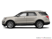 2017 Ford Explorer LIMITED | Photo 1 | White Gold