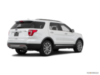 2017 Ford Explorer LIMITED | Photo 2 | White Platinum