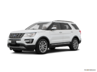 2017 Ford Explorer LIMITED | Photo 3 | White Platinum