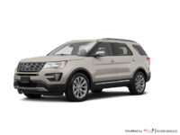 2017 Ford Explorer LIMITED | Photo 3 | White Gold