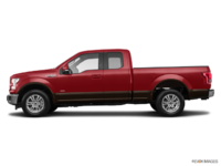 2017 Ford F-150 LARIAT | Photo 1 | Ruby Red Metallic/Caribou