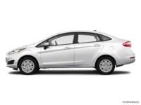 2017 Ford Fiesta Sedan S | Photo 1 | Oxford White