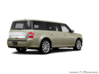 2017 Ford Flex LIMITED | Photo 2 | White Gold