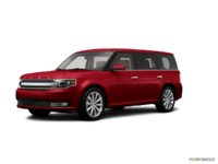 2017 Ford Flex LIMITED | Photo 3 | Ruby Red