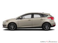 2017 Ford Focus Hatchback SEL | Photo 1 | White Gold