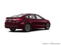 2017 Ford Fusion Hybrid PLATINUM | Photo 2 | Burgandy Velvet