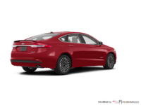 2017 Ford Fusion Hybrid PLATINUM | Photo 2 | Ruby Red