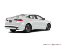 2017 Ford Fusion Hybrid PLATINUM | Photo 2 | White Platinum