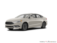 2017 Ford Fusion Hybrid PLATINUM | Photo 3 | White Gold