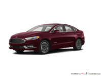 2017 Ford Fusion Hybrid PLATINUM | Photo 3 | Burgandy Velvet