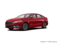 2017 Ford Fusion Hybrid PLATINUM | Photo 3 | Ruby Red