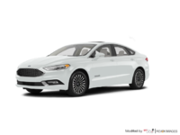 2017 Ford Fusion Hybrid PLATINUM | Photo 3 | White Platinum