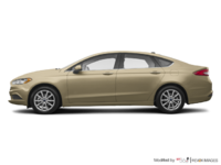 2017 Ford Fusion S | Photo 1 | White Gold