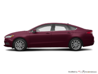 2017 Ford Fusion SE | Photo 1 | Burgandy Velvet