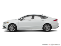 2017 Ford Fusion SE | Photo 1 | White Platinum