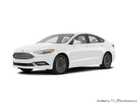 2017 Ford Fusion TITANIUM | Photo 3 | Oxford White