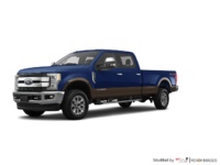 2017 Ford Super Duty F-250 KING RANCH | Photo 3 | Blue Jeans Metallic/Caribou