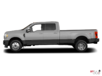 2017 Ford Super Duty F-450 LARIAT | Photo 1 | Ingot Silver Metallic/Magnetic