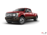 2017 Ford Super Duty F-450 LARIAT | Photo 3 | Ruby Red/Caribou