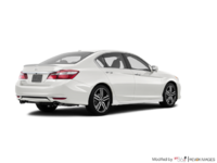 2017 Honda Accord Sedan TOURING V-6 | Photo 2 | White Orchid Pearl