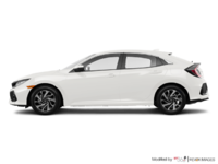 2017 Honda Civic Hatchback LX | Photo 1 | White Orchid Pearl