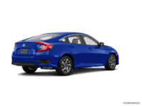 2017 Honda Civic Sedan EX | Photo 2 | Aegean Blue Metallic