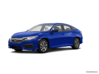 2017 Honda Civic Sedan EX | Photo 3 | Aegean Blue Metallic