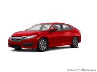 2017 Honda Civic Sedan EX | Photo 3 | Rallye Red