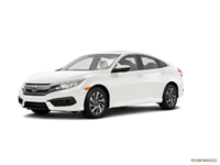 2017 Honda Civic Sedan EX | Photo 3 | White Orchid Pearl