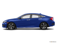 2017 Honda Civic Sedan TOURING | Photo 1 | Aegean Blue Metallic