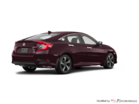 2017 Honda Civic Sedan TOURING | Photo 2 | Burgandy Nigth Pearl