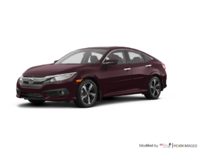 2017 Honda Civic Sedan TOURING | Photo 3 | Burgandy Nigth Pearl