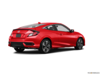 2017 Honda Civic Coupe EX-T | Photo 2 | Rallye Red
