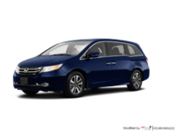 2017 Honda Odyssey TOURING | Photo 3 | Obsidian Blue Pearl