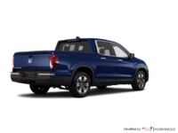 2017 Honda Ridgeline TOURING | Photo 2 | Obsidian Blue Pearl