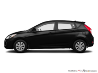 2017 Hyundai Accent 5 Doors GL | Photo 1 | Ultra Black
