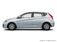 2017 Hyundai Accent 5 Doors GL | Photo 1 | Ironman Silver