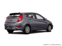 2017 Hyundai Accent 5 Doors GL | Photo 2 | Triathlon Grey
