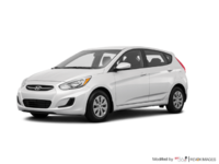 2017 Hyundai Accent 5 Doors GL | Photo 3 | Century White