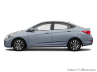 2017 Hyundai Accent Sedan SE | Photo 1 | Ironman Silver