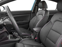 2017 Hyundai Elantra Sport TECH | Photo 1 | Black Leather w/Red Stitching